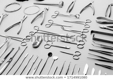 Computador placa de circuito tecnologia serviço ferramenta Foto stock © OleksandrO