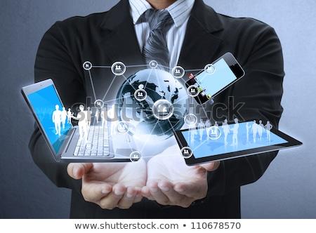 現代 携帯 技術 通信 携帯電話 ビジネス ストックフォト © -Baks-