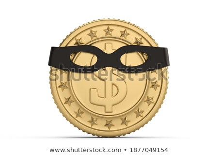 Arrest of money. Isolated 3D image Stock photo © ISerg
