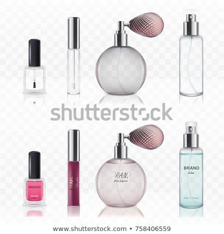 Colourful transparent bottles Stock photo © bluering