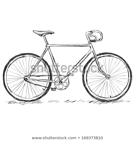 Racing design bicycle vector illustration clip-art image Stock photo © vectorworks51