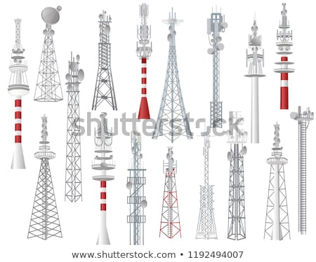 Communication Towers Stock photo © sifis