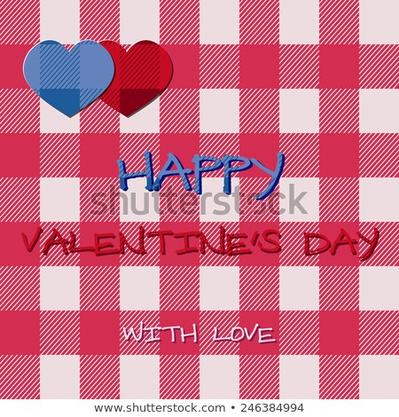 Fényes 2015 Valentin nap nap kártya hipszter Stock fotó © JeksonGraphics