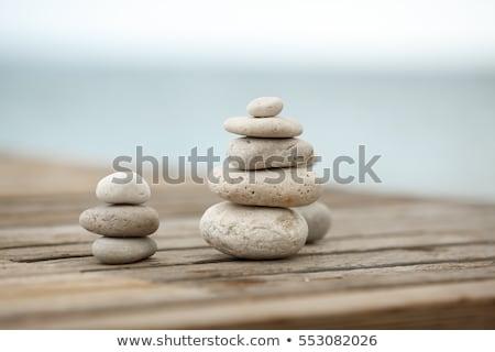 медитации свечу свет Сток-фото © dariazu