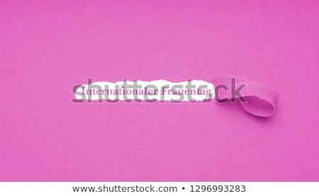 Texto peça papel escrito Foto stock © nito