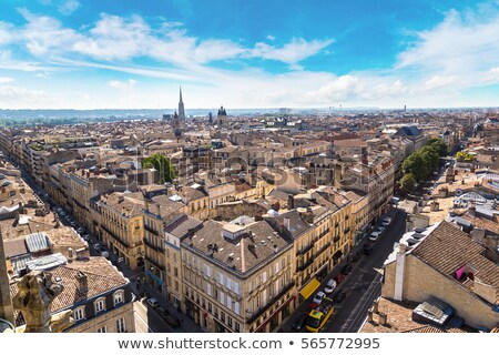view to old town of Bordeaux Stock photo © meinzahn