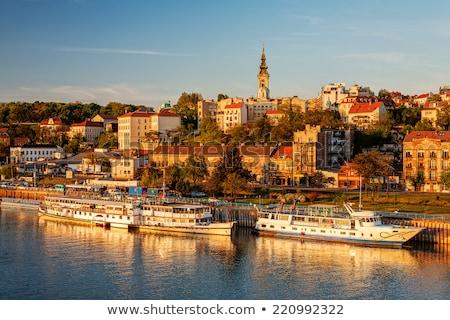 River landscape Belgrade Stock photo © simply