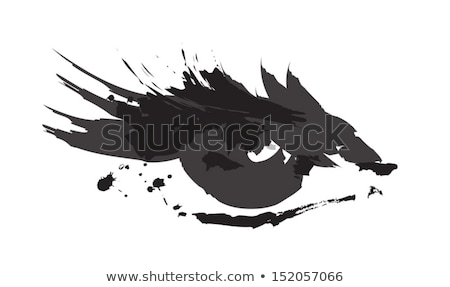 detail of female eye with painted face Stock photo © meinzahn