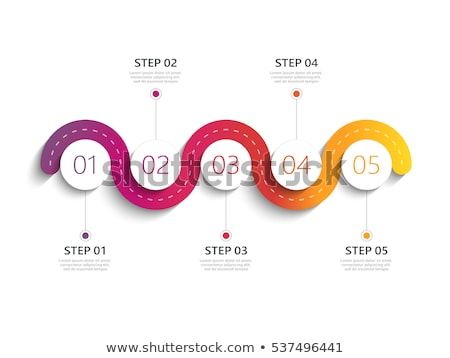 Chart design for times tables Stock photo © bluering