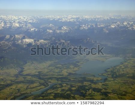 Outono paisagem ver alpes viajar lago Foto stock © dirkr