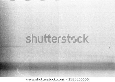 Rumoroso film frame pesante polvere grano Foto d'archivio © Taigi