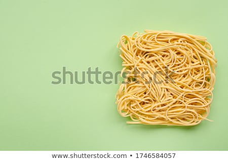 Dried Egg Noodles Stock photo © Digifoodstock