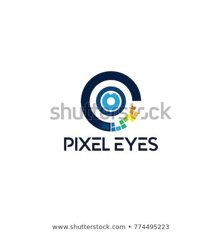 眼 · 見 · 参照してください · ロゴ · ロゴタイプ · テンプレート - ストックフォト © vector1st