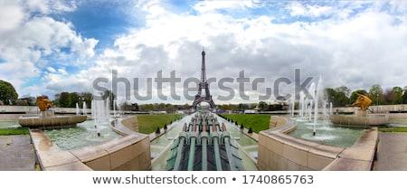 Garden Trocadero in Paris Stock photo © Givaga