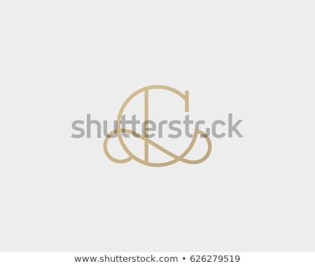 Brief handtekening logo symbool ontwerp achtergrond Stockfoto © meisuseno