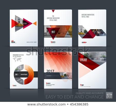 Triangular industrial banner Stock photo © blackmoon979