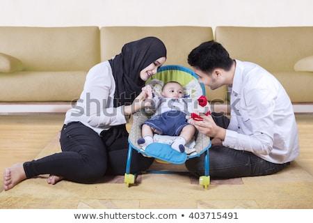 portret · familie · vergadering · samen · vrouwen - stockfoto © monkey_business