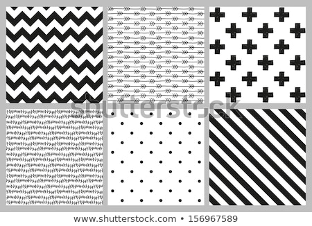 Eenvoudige pijl diagonaal naadloos vector patroon Stockfoto © yopixart