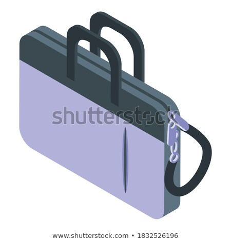 Businessman Carrying Briefcase Vector Illustration Stock photo © robuart