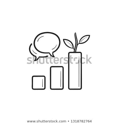 organic reach hand drawn outline doodle icon stock photo © rastudio