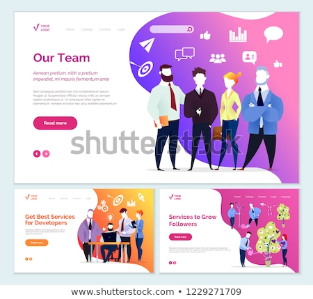 Best Services Developer Services to Grow Followers Stock photo © robuart