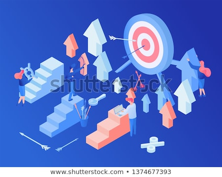 Seo optimalisatie team geslaagd Stockfoto © robuart