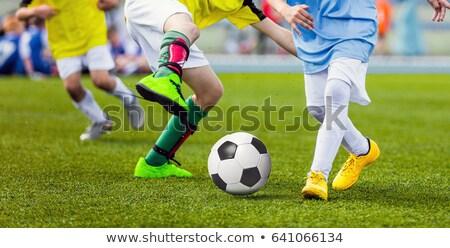 jongens · lopen · voetbal · actie - stockfoto © matimix