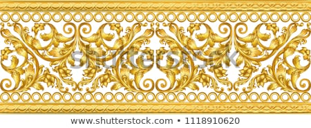 Baroque ornamented background Vector. Victorian Royal texture. F Stock photo © frimufilms