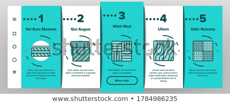 Waterproof Materials Vector Onboarding Stock photo © pikepicture