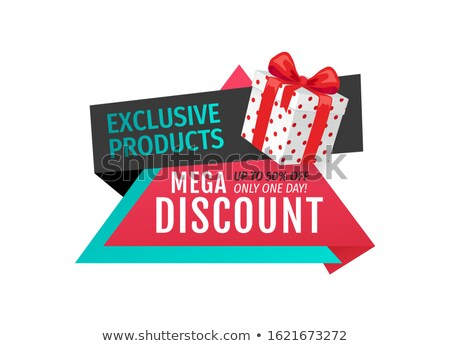 exclusive products mega discounts half cost off stock photo © robuart