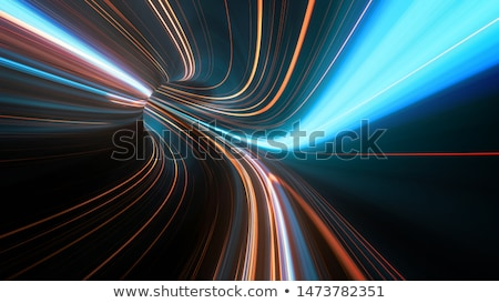 Snelheid racing Rood Blauw lijnen Stockfoto © SArts