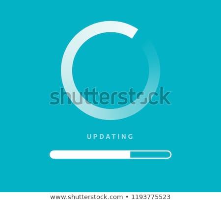 bijwerken · software · informatie · toetsenbord · sleutel · internet - stockfoto © jossdiim
