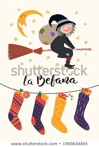 Epiphany with sock Stock photo © adrenalina