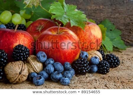 Outono colheita comida natureza morta temporada frutas Foto stock © Illia