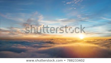 vliegtuig · vlucht · boven · zee · eilanden · hemel - stockfoto © vapi