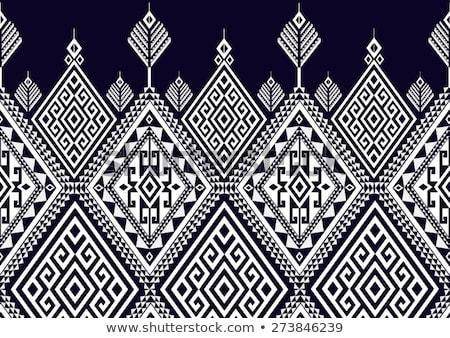 vector geometric seamless ethnic pattern stock photo © margolana