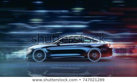 moderno · carro · abstrato · elegante · arte · vermelho - foto stock © valkos