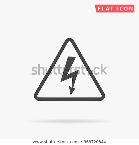 высокое напряжение веб пользователь интерфейс стороны Сток-фото © ayaxmr