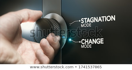 Overcoming stagnation, switching career to evolve. Stock photo © olivier_le_moal