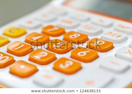 Orange Button Minus Stock photo © hlehnerer