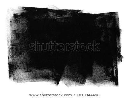 biały · farby · czarny · malowany · ściany - zdjęcia stock © Melvin07