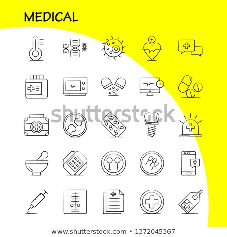 Bandaged Hand And X-Ray Print Stock photo © KonArt