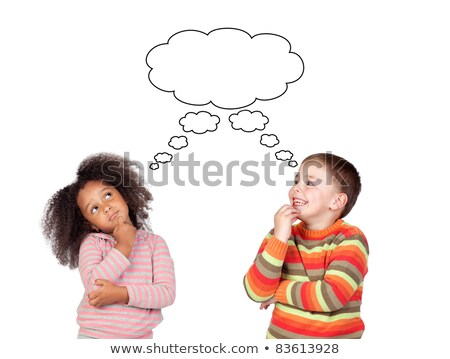 Two pensive children Stock photo © Paha_L