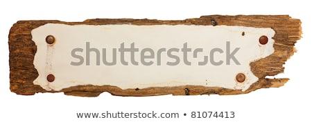 Velho peça papel quadro de avisos negócio escritório Foto stock © latent