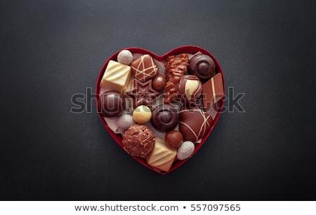 kettő · csokoládé · étel · édes · dekoratív · gurmé - stock fotó © aladin66