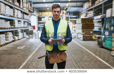 close-up of blue-collar Stock photo © photography33