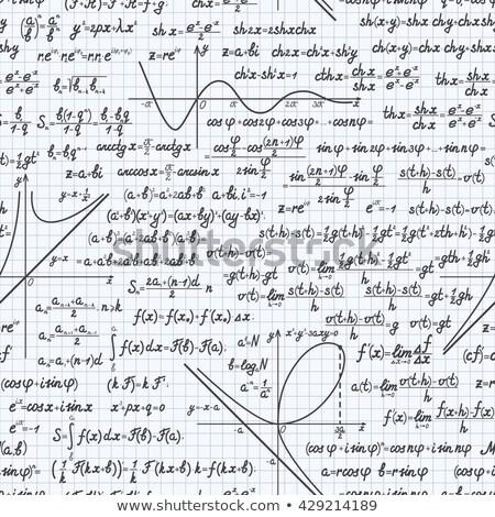 Merkt horizontaal shot math Geel Stockfoto © pixelsnap