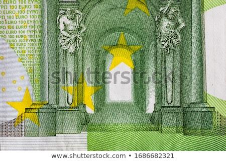 евро монеты макроса бизнеса круга Сток-фото © silent47