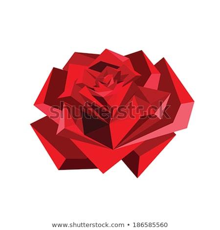origami · bloem · vlinder · gelukkig · teken · geschenk - stockfoto © taviphoto