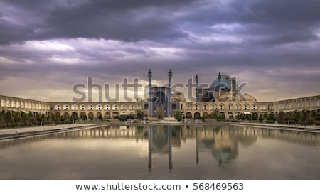 Stock photo: mosque in isfahan iran